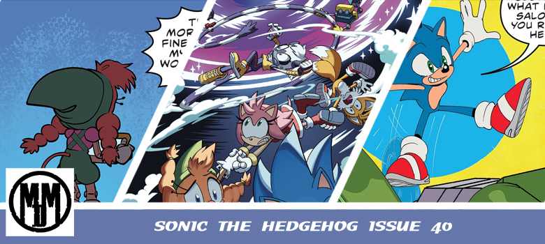 COMIC IDW Sonic issue 40 review header