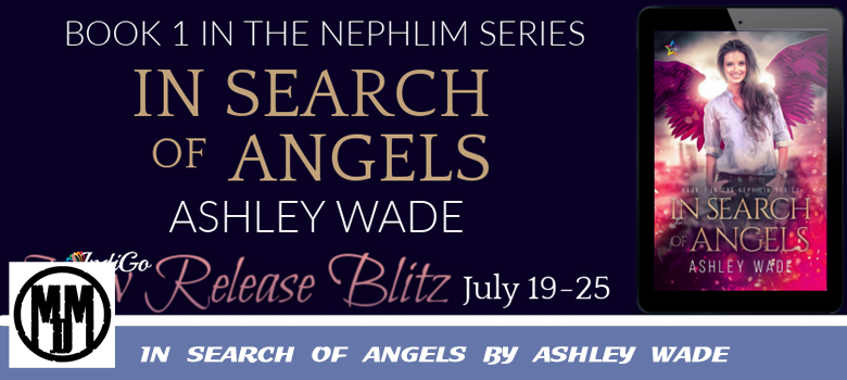 In Search Of Angels By Ashley Wade Book Spotlight header