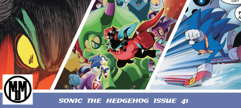 sonic the hedgehog issue 41 idw comic review header