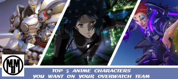 TOP 5 ANIME CHARACTERS YOU WANT ON YOUR OVERWATCH TEAM HEADER
