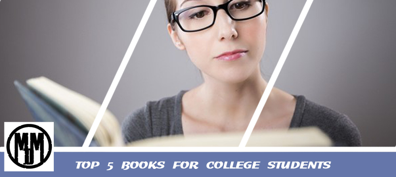 TOP 5 BOOKS FOR COLLEGE STUDENTS header