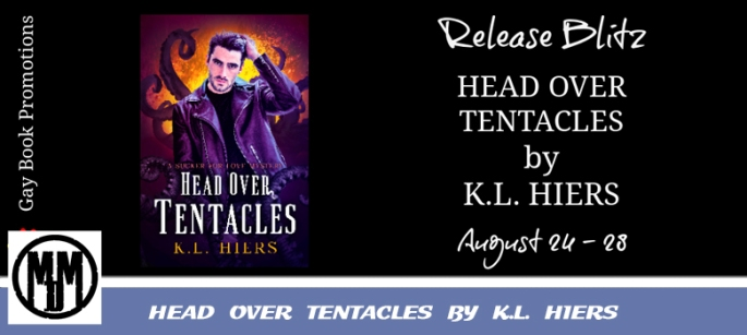 HEAD OVER TENTACLES BY K.L. HIERS BOOK SPOTLIGHT HEADER