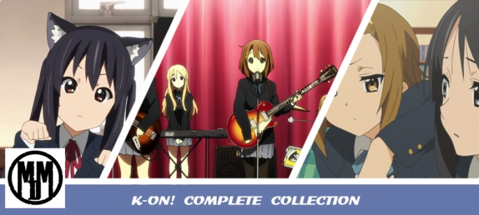 K-ON COMPLETE COLLECTION ANIME REVIEW HEADER