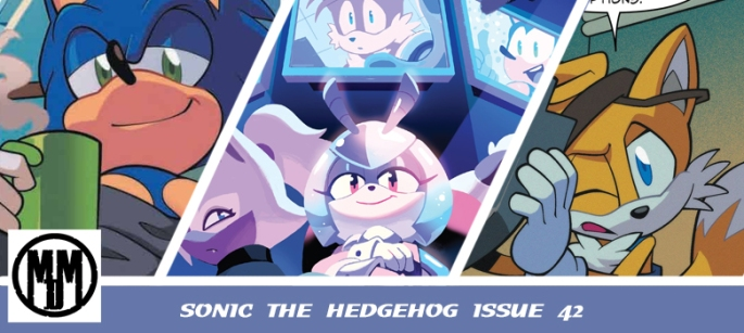 SONIC THE HEDGEHOG ISSUE 42 COMIC REVIEW HEADER