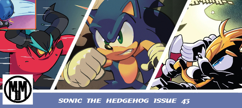 IDW Sonic the Hedgehog issue 43 comic review header