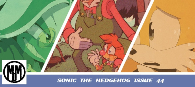 IDW Sonic the Hedgehog comic issue 44 REVIEW HEADER