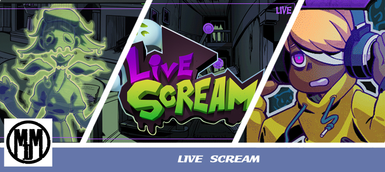 LIVE SCREAM LIGHTNING ROD GAMES VISUAL NOVEL VN POINT AND CLICK ADVENTURE HORROR SPOOKY CHARITY VIDEO GAME REVIEW HEADER